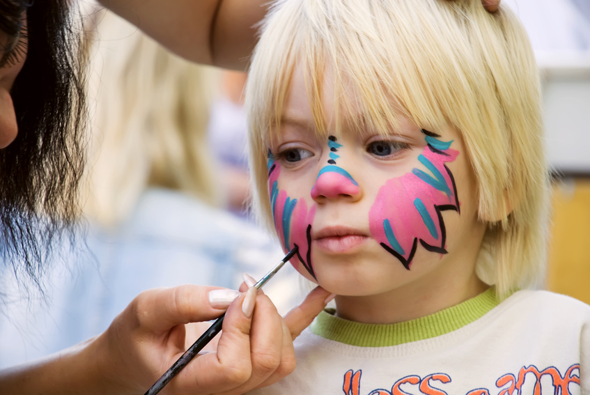 Children's body art